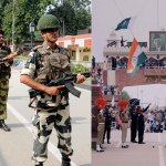 Pakistani visitors hurl stones at Indian side during beating Retreat Ceremony at Wagah Border