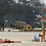 Beaches turned into Fortresses, Unprecedented security in Goa for BRICS Summit