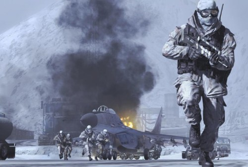 Screenshot CALL OF DUTY: MODERN WARFARE 2 (Quelle: http://modernwarfare2.infinityward.com)