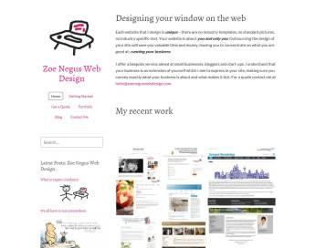 Zoe Negus Web Design