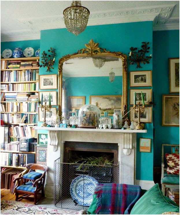 20 Great Fireplace Mantel Decorating Ideas   Zohostone Fireplace Mantels  Sorry  I had the source for this  but lost it  but it s