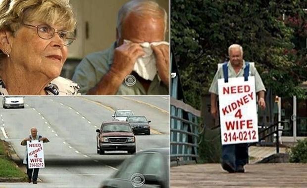 Άντρας ψάχνει δωρητή νεφρού για την γυναίκα του