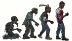 zombie art evolution