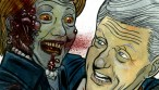 Detail from Bill & Hill1- Zombie Target