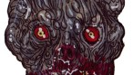 Zombie Art : Bent Zombie Head of the Living Dead - Zombie Art by Rob Sacchetto