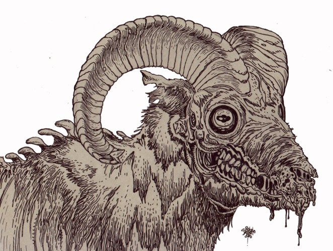 Zombie Animal Archives - Page 2 of 13 - Zombie Art by Rob ...