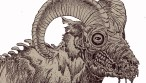 Zombie Art : Zombie Big Horned Sheep Zombie Art by Rob Sacchetto