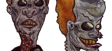 Zombie Art : Beavis and Butthead