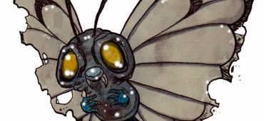Zombie Art : Butterfree Pokemon