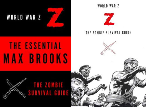 World War Z & The Zombie Survival Guide by Max Brooks