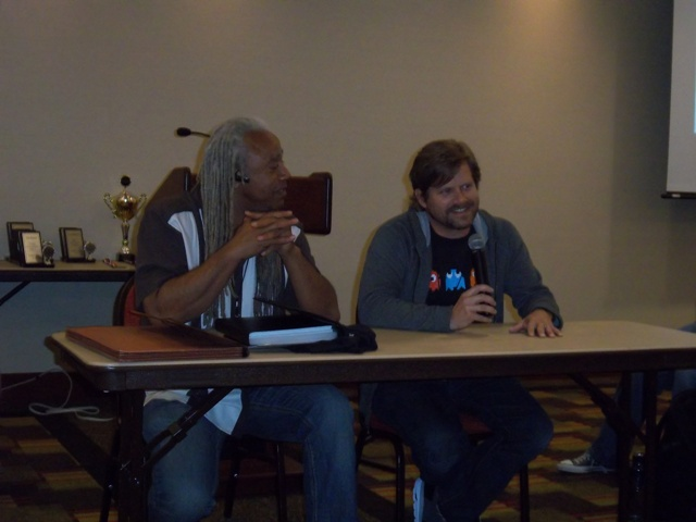 Dave Fennoy & Gavin Hammon In My Zombies Blog