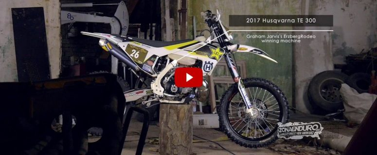 VIDEO. graham jarvis bike husqvarna 2017