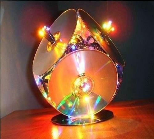 Yuherni: Ide Kreatif Menyulap CD Bekas jadi Kreasi Unik