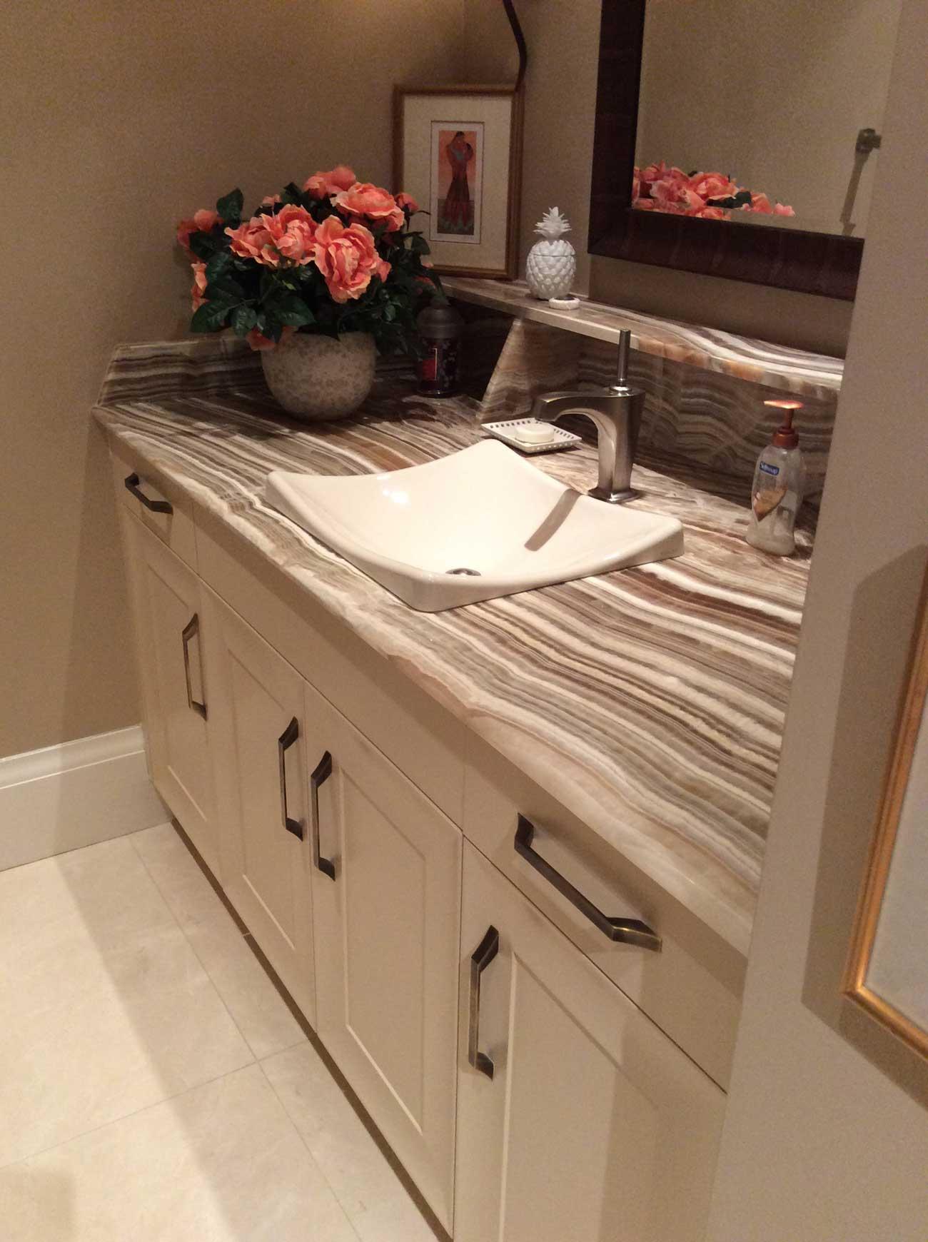 Vanit 2 salle de bain sur mesure zone cuisines zone for Zone salle de bain