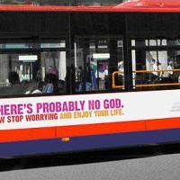 Iklan Kaum Atheis Di Sebuah Bis