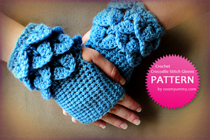 crocodiles stitch, how to make crocodile stitch, how to do crocodile stitch, crocodile stitch how to, crocodile stitch pattern, crocodile stitch tutorial, crocodile stitch gloves, crocodile stitch fingerless gloves, pdf pattern, tutorial, pictures, step by step, images, etsy