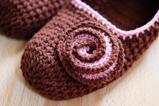crochet slippers pattern