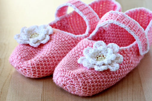 crochet mary jane slippers pattern