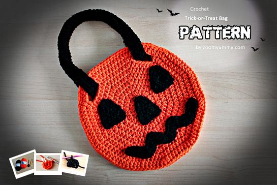 crochet jack o lantern pattern by zoomyummy.com