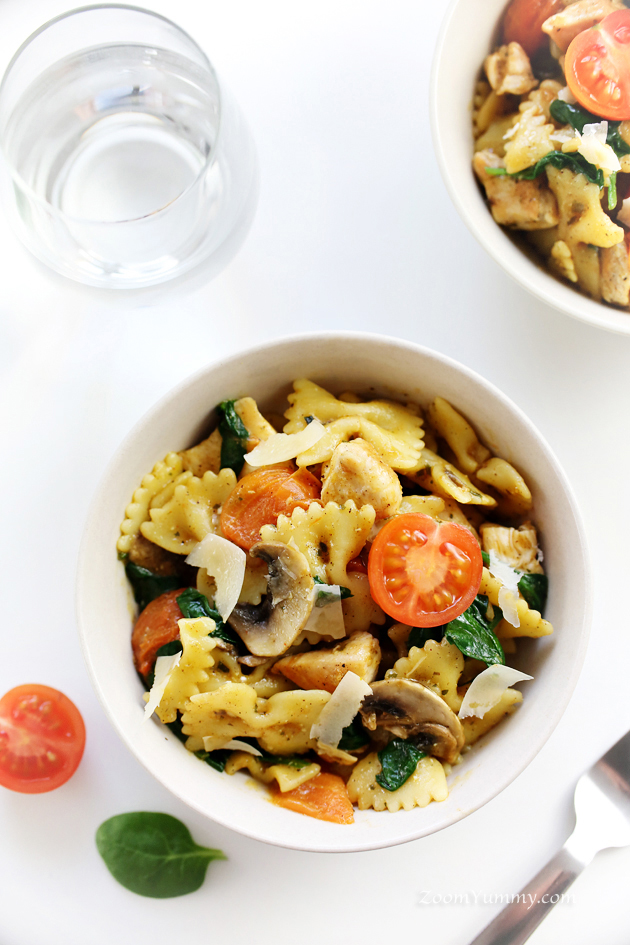 easy 30-minute brown butter chicken pasta recipe
