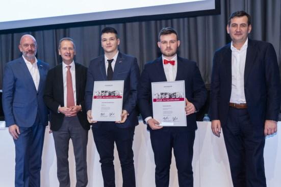 BAA 2018 Dominik Król z VW MP oraz Eryk Bednarek z firmy Sitech