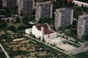 Naša crkva iz zraka