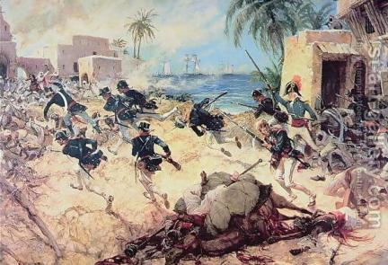 scontro fra marines e schiavisti berberi