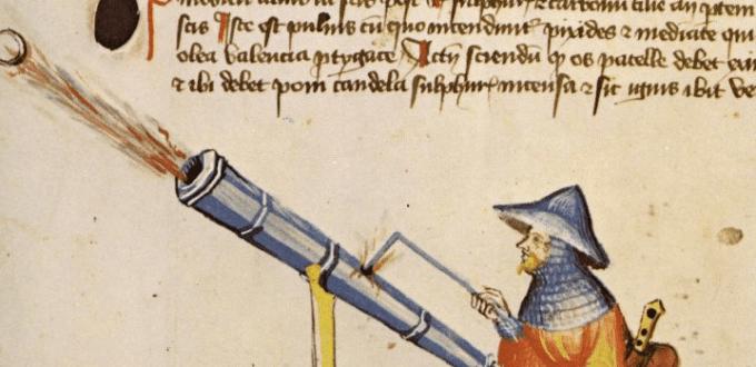 artiglieria XIV secolo