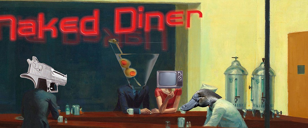 Science Comedian Brian Malow-Naked Diner Ep. 43