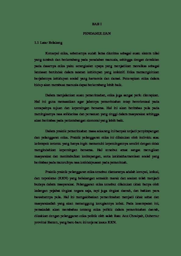 19 Makalah Etika Jabatan