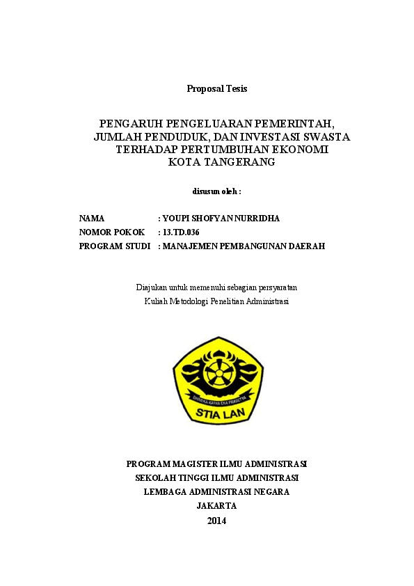 19 Skripsi Administrasi Negara Download