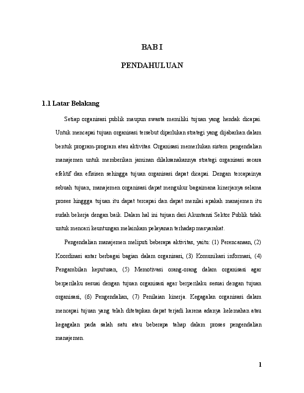 17 Contoh Latar Belakang Makalah Akuntansi Manajemen