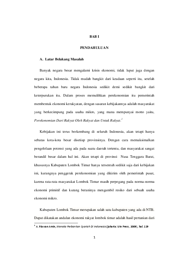 14 Skripsi Manajemen Perbankan Pdf