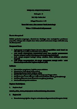 Doc Contoh Rencana Kegiatan Harian Aini Mahmudah Academia Edu
