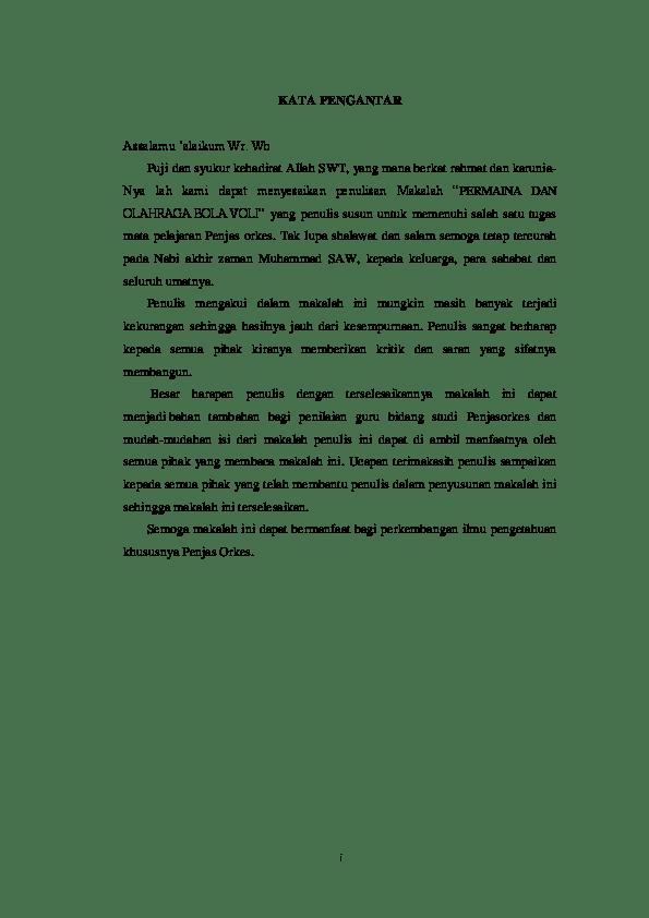 Contoh Penutup Makalah : contoh, penutup, makalah, Contoh, Penutup, Makalah