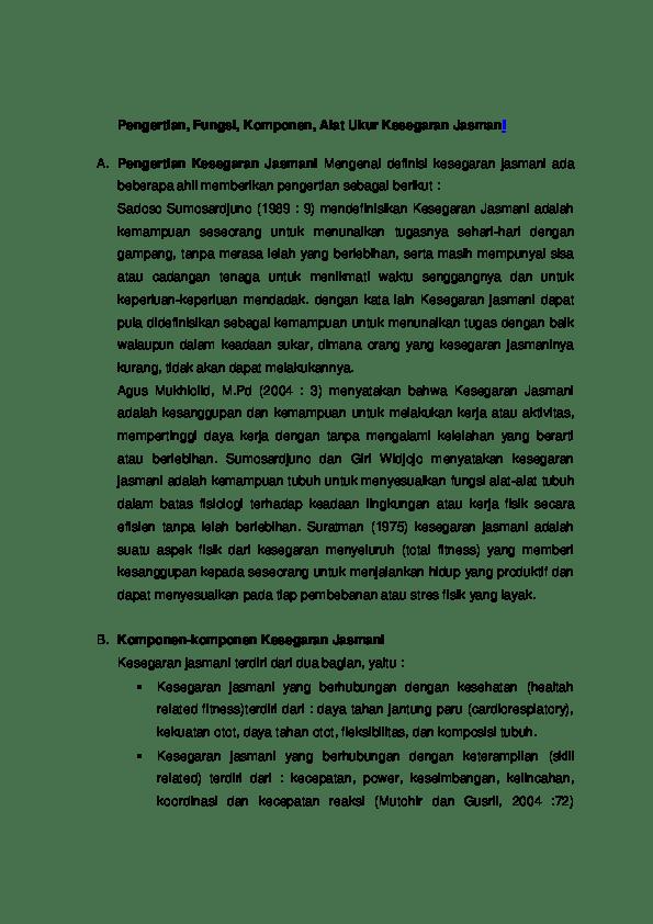 Pengertian Daya Tahan : pengertian, tahan, Definisi, Tahan, Menurut