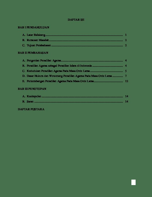 16 Contoh Saran Untuk Makalah Agama