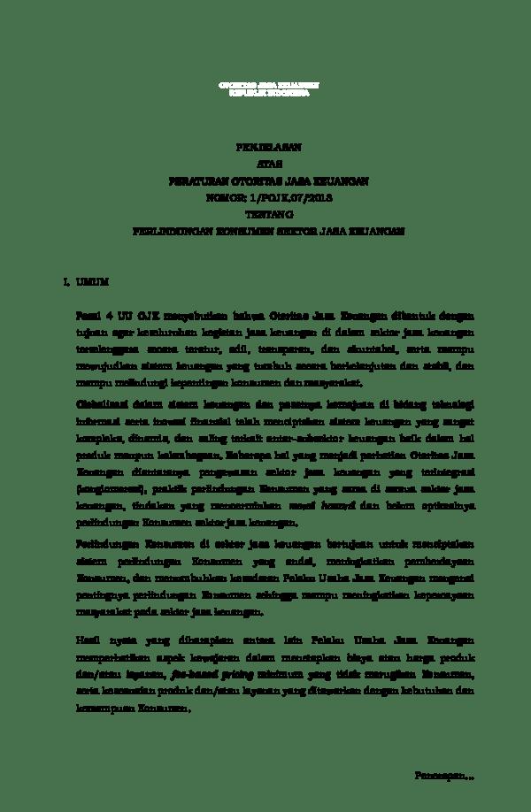 Contoh Surat Pengaduan Kepada Pihak Bank