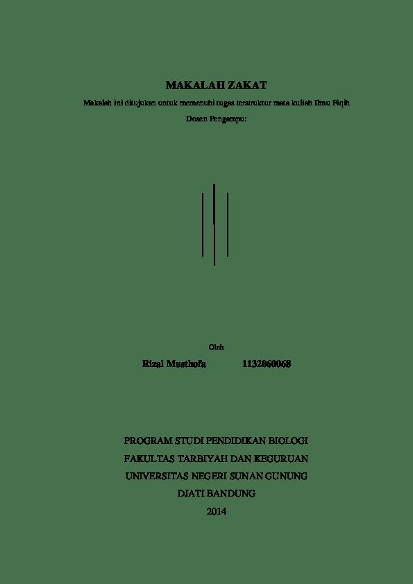 18 Makalah Fiqih Zakatdoc