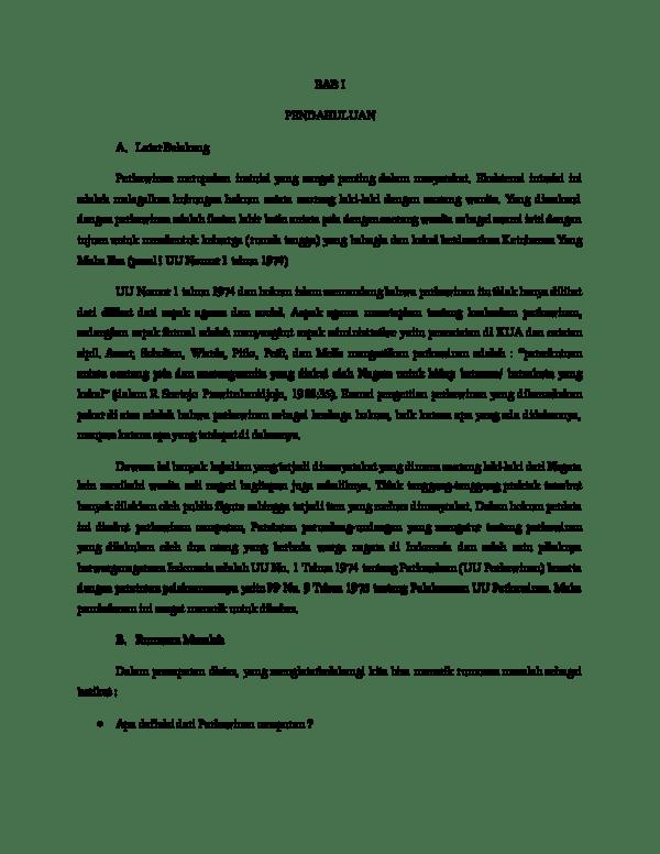 Doc Perkawinan Campuran Syathir Sofyan Academia Edu