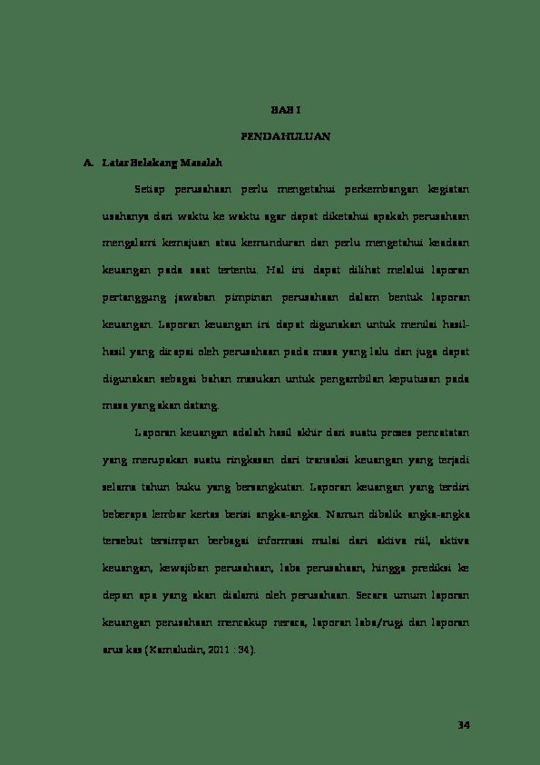 Analisis Laporan Arus Kas Untuk Mengukur Likuiditas Perusahaan Pada Pt Pupuk Sriwidjaja Palembang