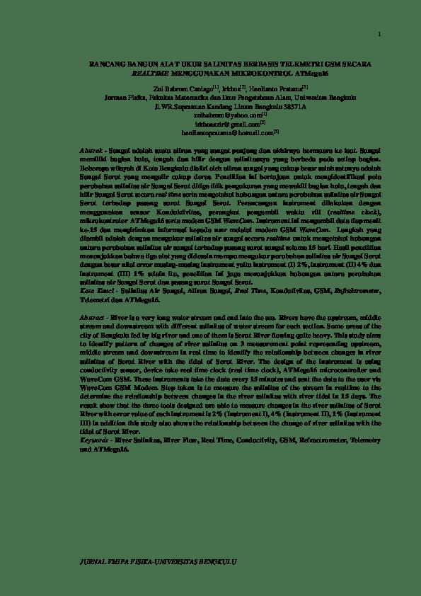 20 Judul Skripsi Fisika Instrumentasi