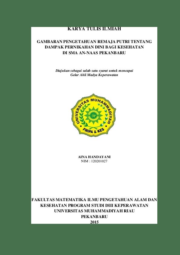 18 Contoh Judul Makalah Kesehatan Reproduksi