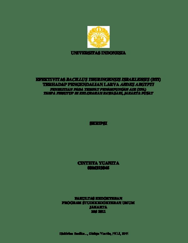 17 Skripsi Kedokteran Universitas Indonesia