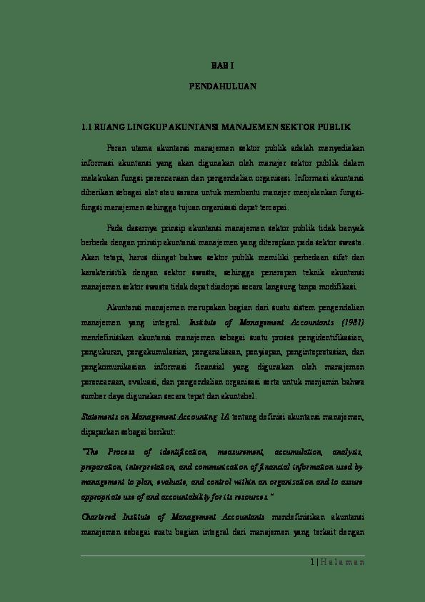15 Contoh Makalah Akuntansi Publik