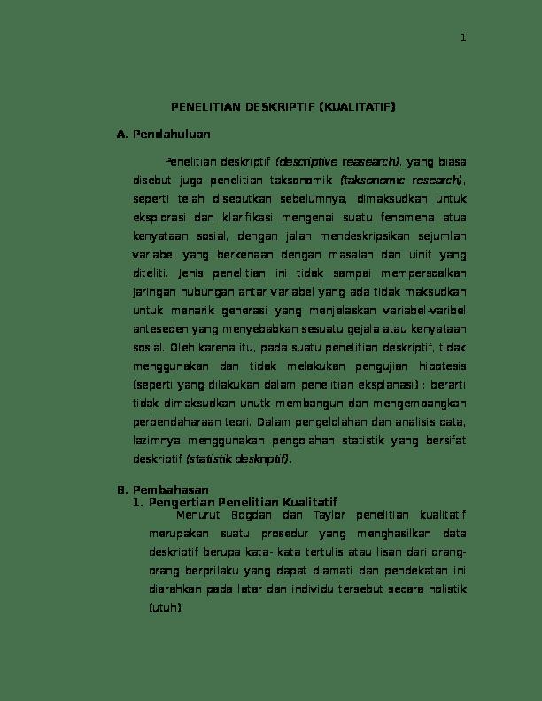 16 Skripsi Analisis Deskriptif Kualitatif
