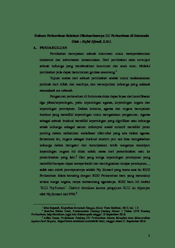 20 Pdf Skripsi Hukum Perdata Tentang Perkawinan
