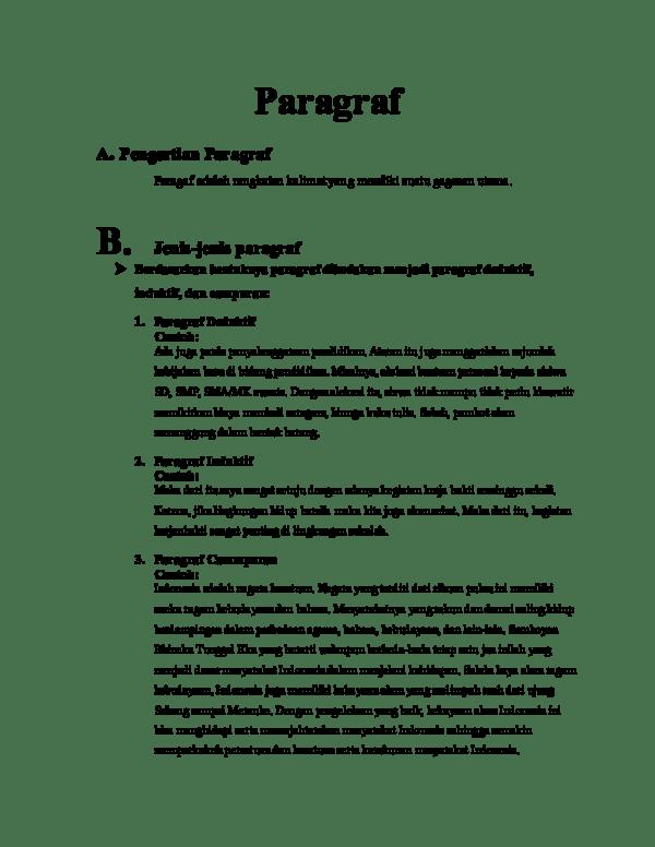 20 Contoh Paragraf Deduktif Lingkungan Hidup