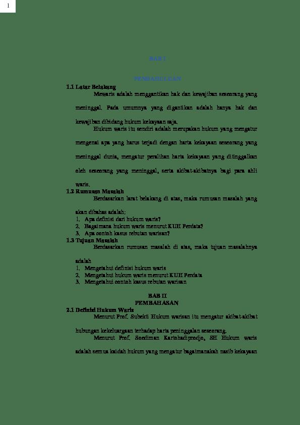 17 Kumpulan Judul Skripsi Hukum Perdata Download