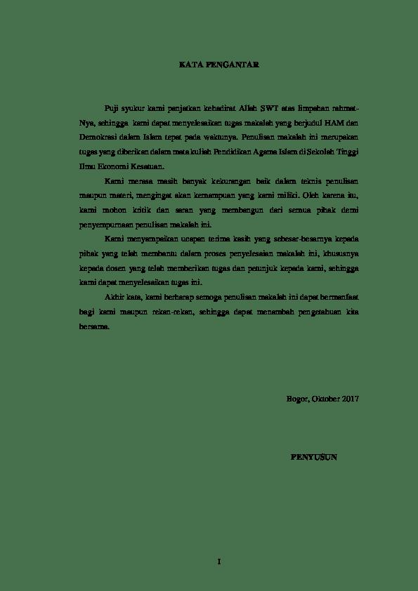 14 Makalah Agama Islam Kelas X